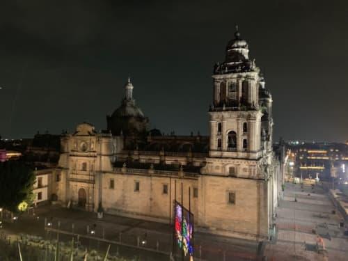 メキシコシティのサンタマリア大聖堂