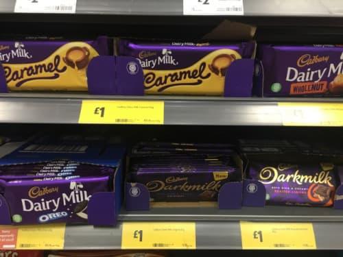 イギリス チョコレート