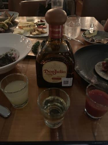 メキシコのテキーラ(Don Julio)