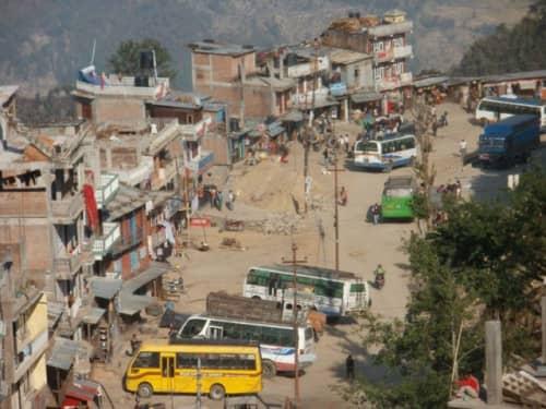 チャリコット村の景色