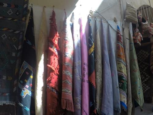 カラフルな絨毯