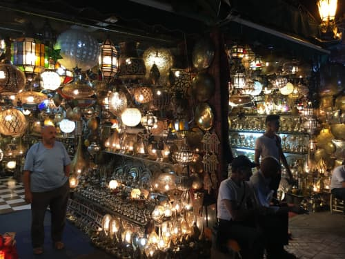 マラケシュのランプ