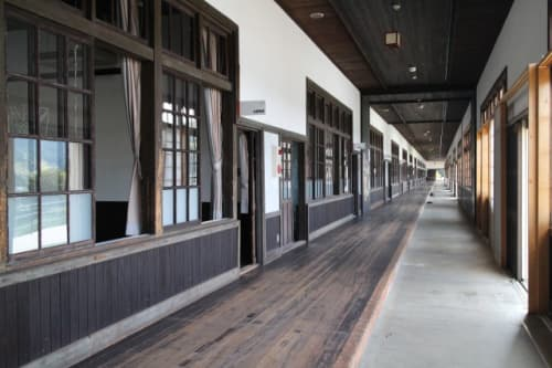 宇和米博物館 廊下