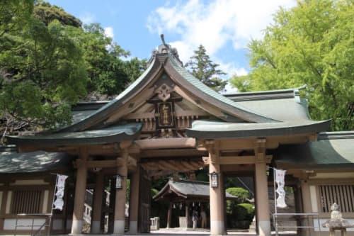 和霊神社 入口