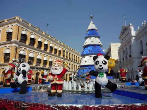 クリスマスのセナド広場