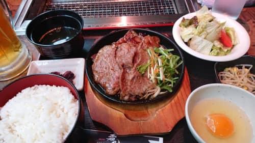 近江牛焼肉 霜月 近江八幡本店のランチ