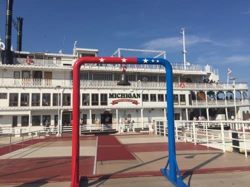ミシガンクルーズ船