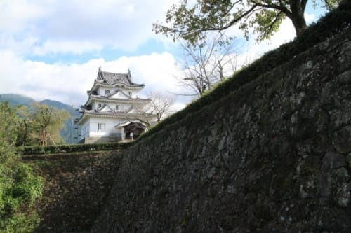 宇和島城 石垣