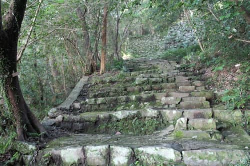 宇和島城 石段