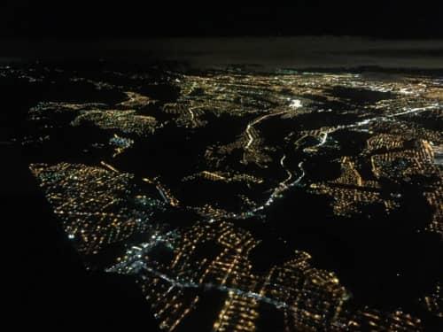 グアテマラシティの夜景