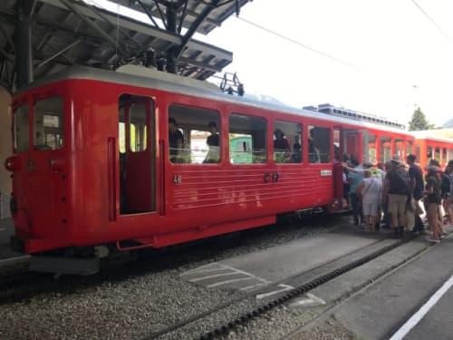 シャモニー モンタベール鉄道