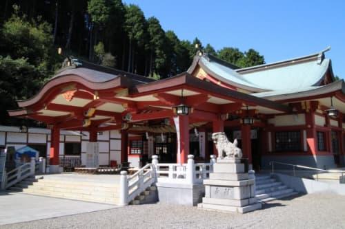 石鎚神社 口の宮 本殿