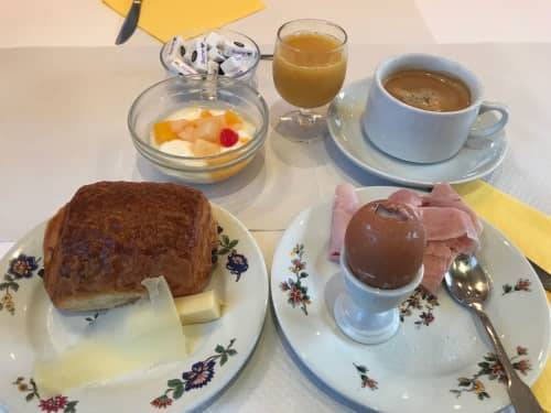ホテルリシュモン 朝食
