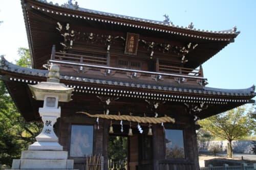 石鎚神社 随神門