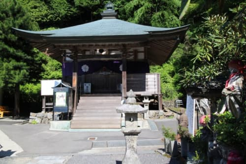 横峰寺 大師堂