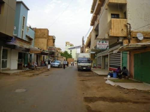 スーダンの都会