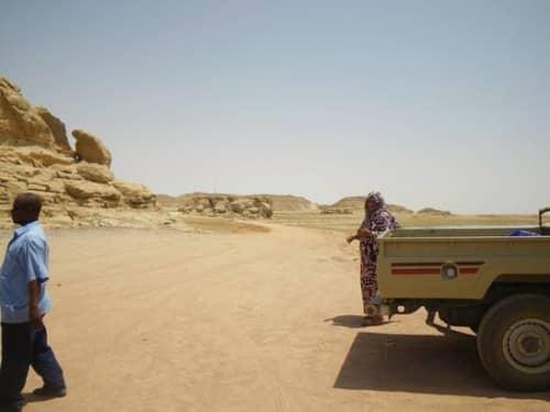 スーダンは砂だらけ