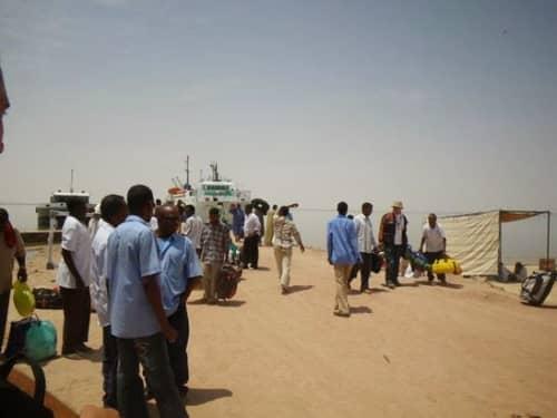 スーダンの港
