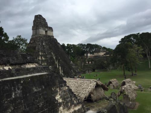 ティカル国立公園の1号神殿
