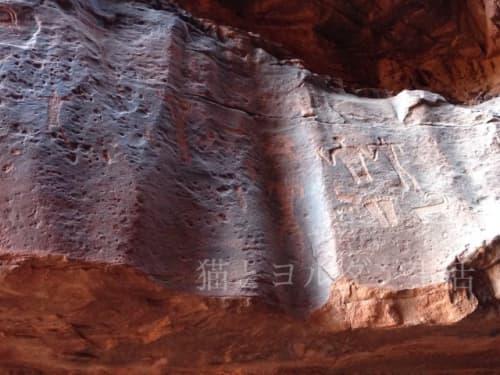 ワディラム、アンフォーシの壁画