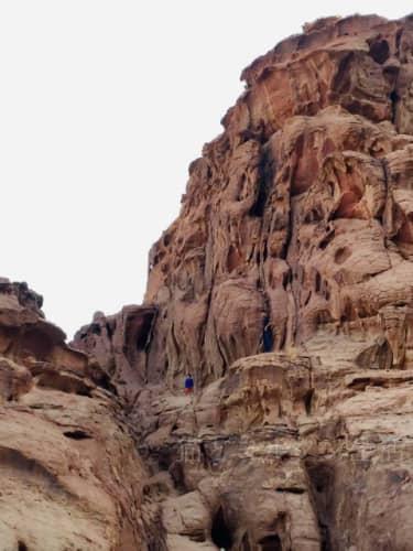 ワディラムの岩山