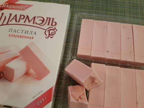 ロシアのお菓子パスチラ【ПАСТИЛА】