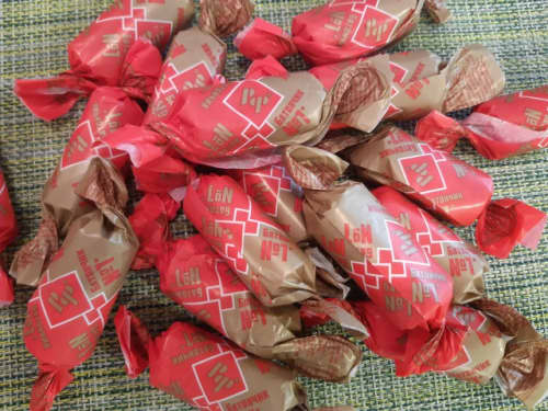 ロシアのお菓子バトンチキ【БАТОНЧКИ】