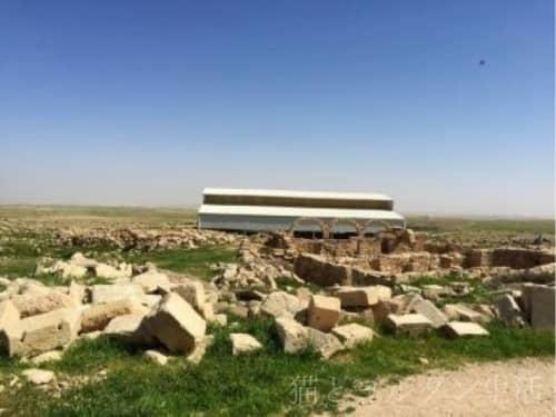ウンム・アル・ラサースの風景