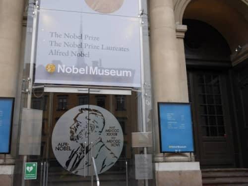 ノーベル博物館入り口