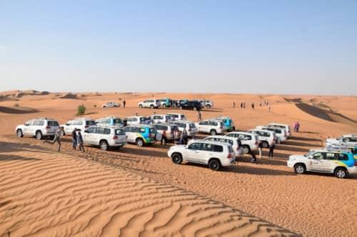 砂漠と四駆