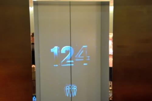 ブルジュハリファのエレベーター