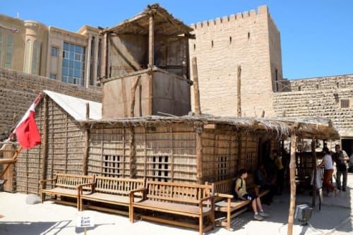 ドバイ博物館の家