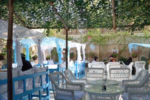 アラビアンティーの中庭