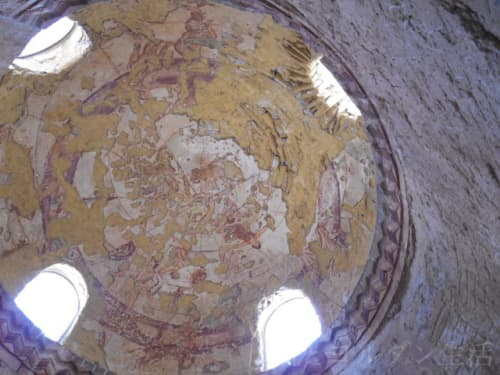 アムラ城のフレスコ画、星座図