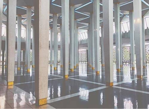 モスク内の風景