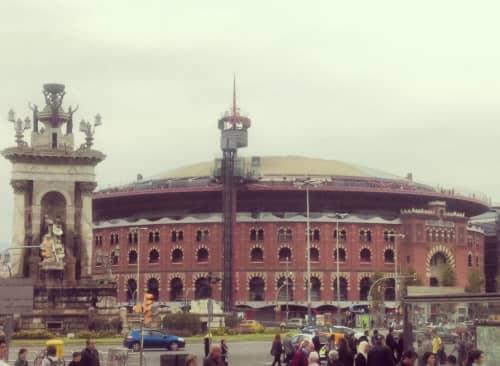 バルセロナの元闘牛場スーパー