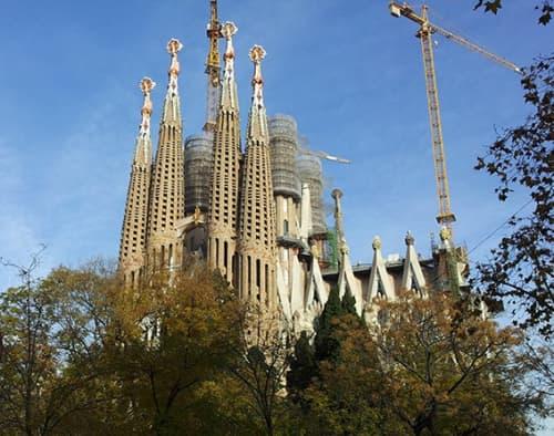 バルセロナのお城