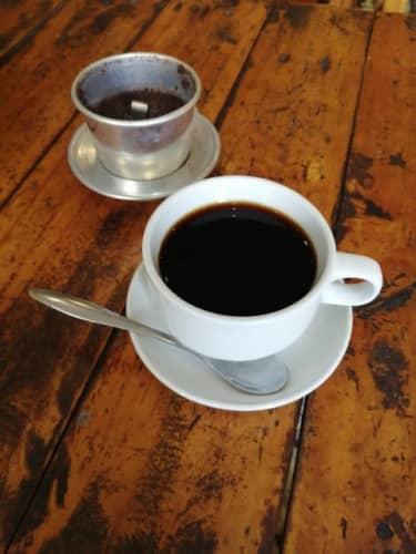コピルアックのホットコーヒー
