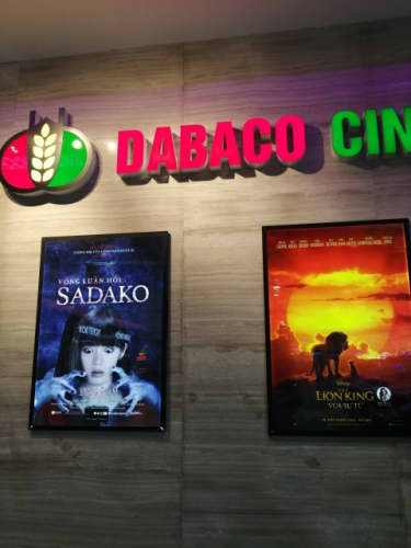 ベトナムで上映されていた貞子