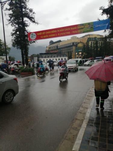 雨天のバイク装備