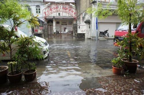マレーシア 洪水