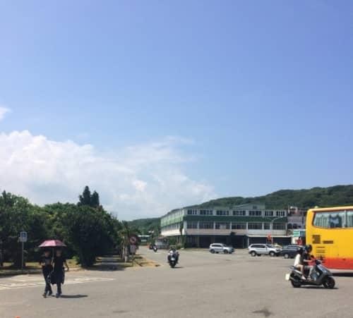 台湾でも日傘が使われます