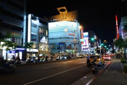 夜の台湾は少し冷えますよ