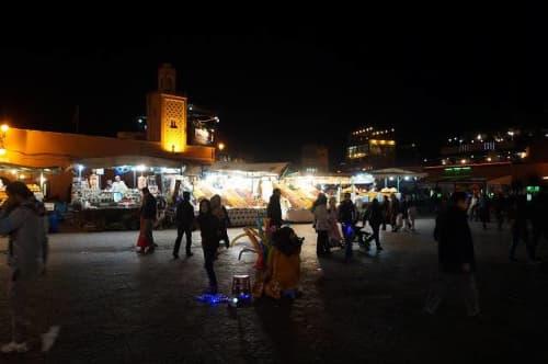 マラケシュ フナ広場