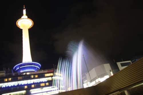 京都タワーとアクアファンタジー