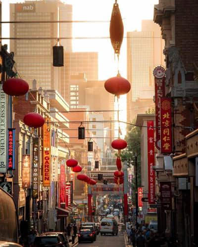 メルボルンCBD中華街