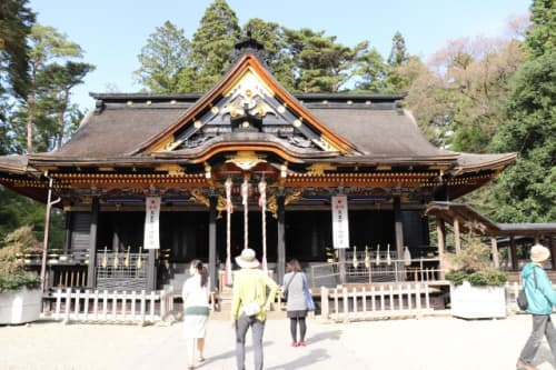 大崎八幡宮の社殿