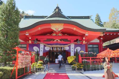 宮城縣護国神社の拝殿