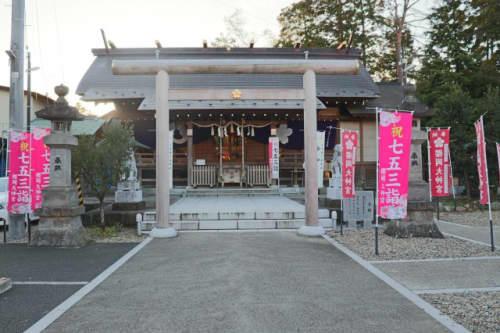 櫻岡大神宮の拝殿
