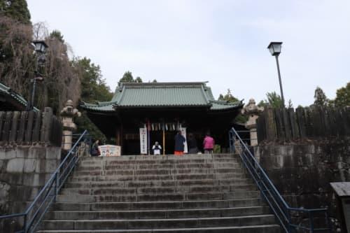 仙台東照宮の拝殿
